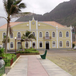 City Hall building in Ponta do Sol in Santo Antao Island