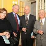 CVJHP Board Members Jack Edlow and Allan Reich with Ambassador Pennor and girlfriend