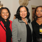 Cape Verde Ambassador Fatima Veiga and staff