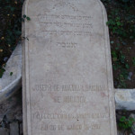 Grave of Joseph Brigham from Mogador-now Essaouira -Morocco